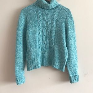 NWOT EXPRESS Chunky Cable Knit Sweater Size XL